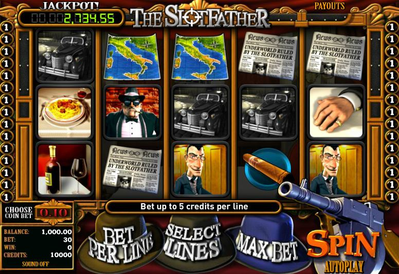 Play Slotfather The Mafia Slot